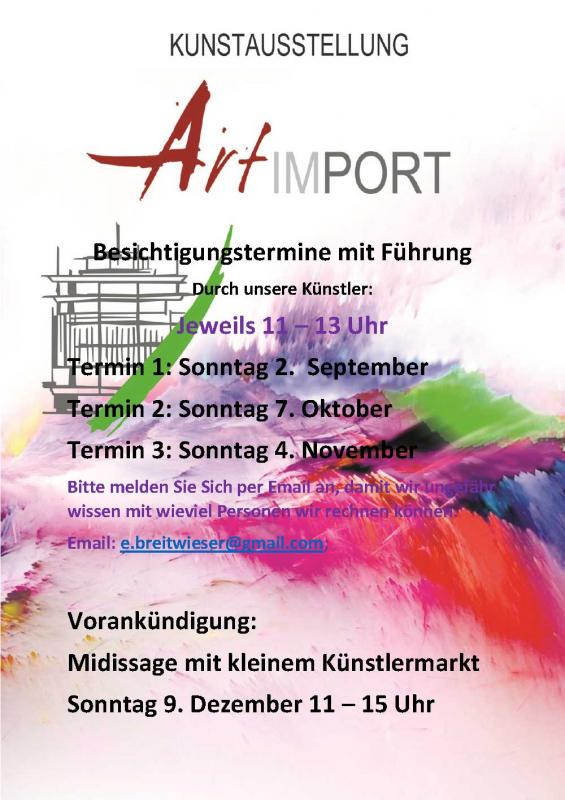 Künstlerführung - ART im PORT