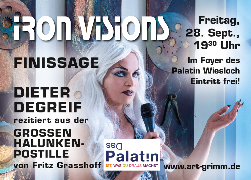 Finissage IRON VISIONS