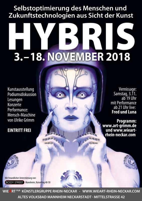 Kunst-Projekt HYBRIS
