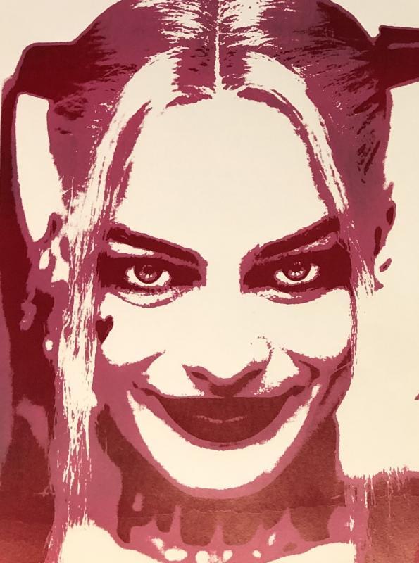 Harley Quinn, Siebdurck