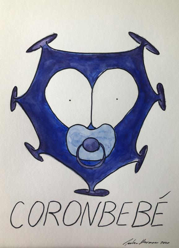 corobebe, Aquarell