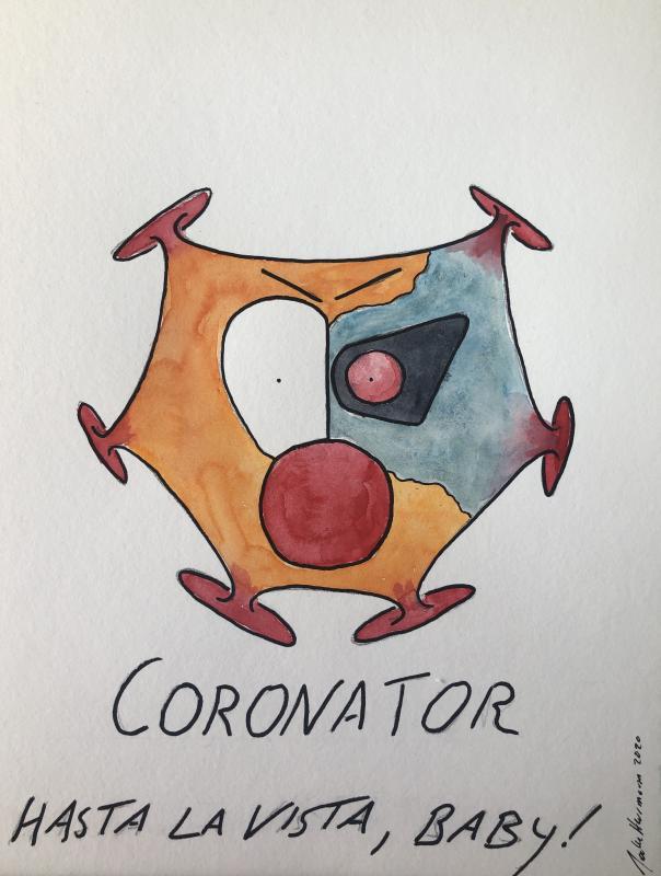 coronator, Aquarell