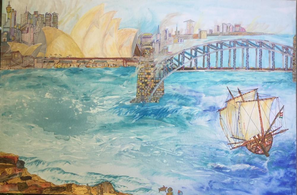 1988 war die 200 Jahrfeier der Entdeckung des 5. Kontinents und Gründung von Sydney