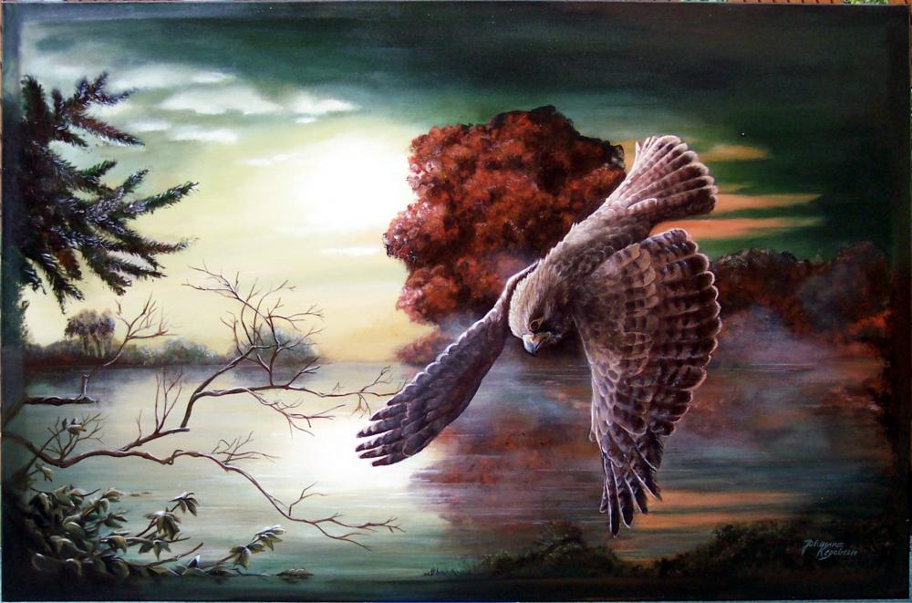 Acryl auf Leinwand ca.: 75 x 116 cm