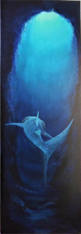 Acryl auf Leinwand  CA.: 50 X 150 cm