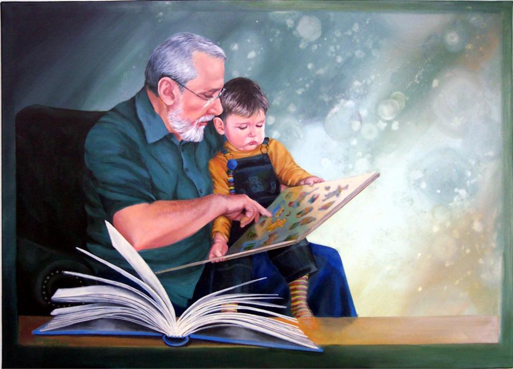 Acryl auf Leinwand ca.: 70 x 100 cm