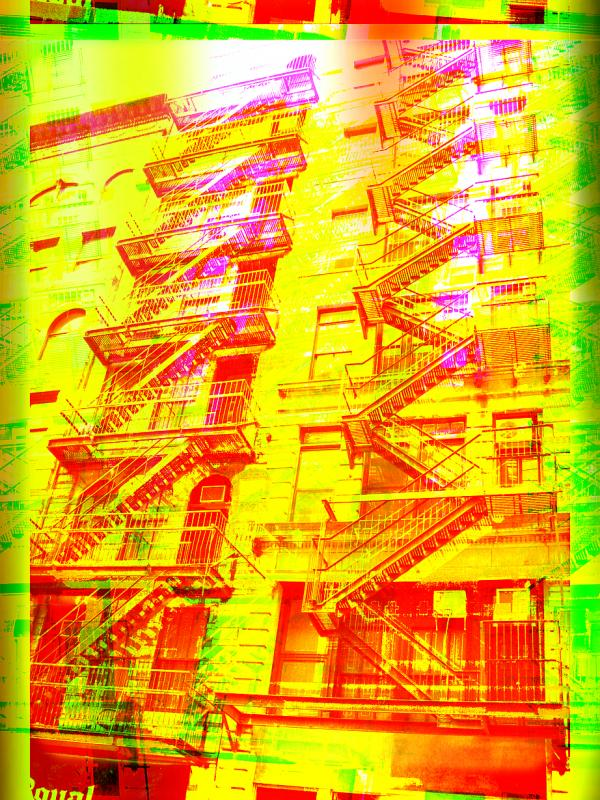 Firestairs in NYC