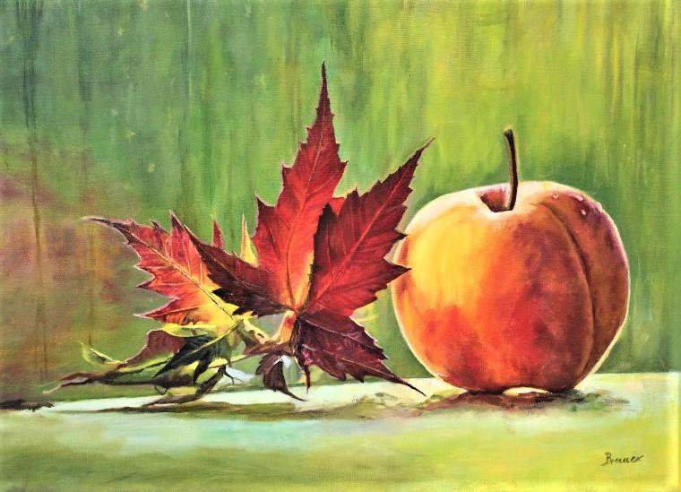 Herbst, 2020, Öl auf Leinwand, 60 x 45 cm